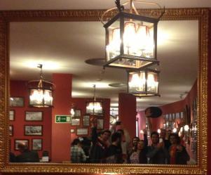 Um bar qualquer na Gran Via
