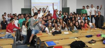 Não posso esquecer da turma FOGET de Teleco da UAM, com o professor Fernando Maestre Miranda