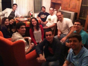 Mais amigos, entre Felipe, Marcos, Luis Fernando