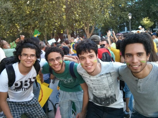 Participamos do Protesto #mudaBrasil #changeBrazil